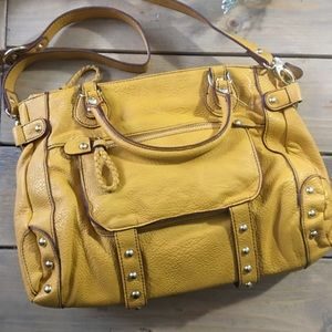 NWOT Steve Madden Mustard Yellow Handbag